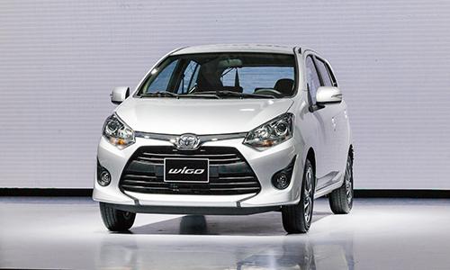 Toyota Wigo ra mắt tại Hà Nội, bán từ tháng 9.