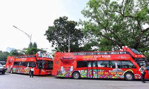 Hà Nội sắp có thêm tuyến xe buýt hai tầng