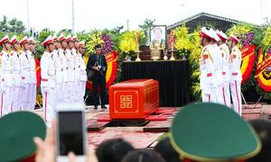 Lễ an táng Chủ tịch nước Trần Đại Quang tại quê nhà