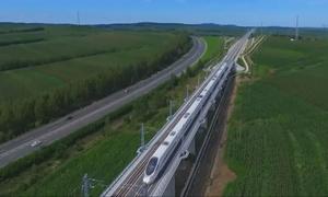 Thử nghiệm tuyến đường sắt cao tốc dài nhất đông bắc Trung Quốc