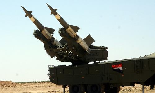 Tổ hợpPechora-2Mđược Nga chuyển giao cho Syria. Ảnh: Blogspot.