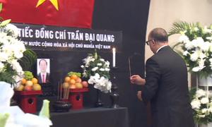 Lễ viếng Chủ tịch nước Trần Đại Quang ở các nước