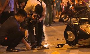 Sắt rơi từ công trình khiến một người chết tại Hà Nội