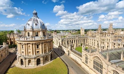 Đại học Oxford, Anh. Ảnh: Sky News