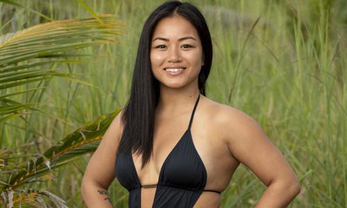 Bi Nguyen trong bức ảnh thử vai chương trình Survivor. Ảnh: Hollywood Reporter.
