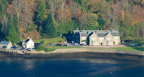 Một phần khu nghỉ dưỡng của hoàng giaDubaiở cao nguyên Tây Bắc, Scotland. Ảnh: Flickr