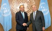 Tổng thư ký LHQ ủng hộ giải quyết tranh chấp Biển Đông bằng luật pháp