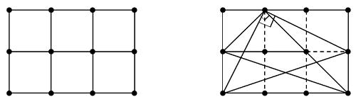 Bài toán đếm tam giác vuông của học sinh lớp 6