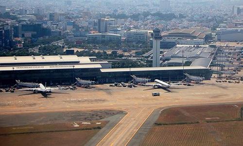 Sân bay Tân Sơn Nhất. Ảnh: Infonet