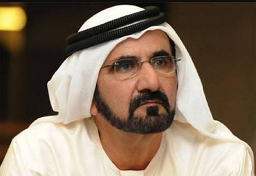 Tiểu vương Dubai Mohammed Bin Rashid al-Maktoum. Ảnh: Twitter