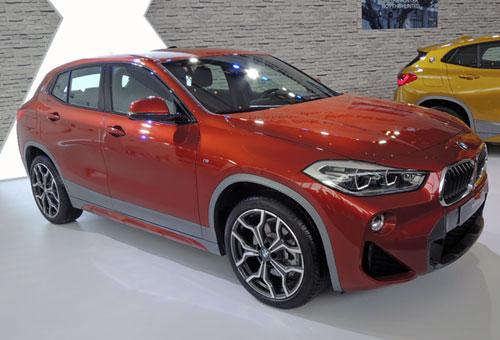 BMW X2 2019 giá hơn 2,1 tỷ đồng cạnh tranh Mercedes GLA
