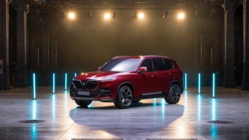 Các mẫu xe SUV của VinFast - nhà sản xuất ô tô Việt Nam đầu tiên tham dự triển lãm ô tô quốc tế Paris Motor Show ngày 2/10/2018 tới