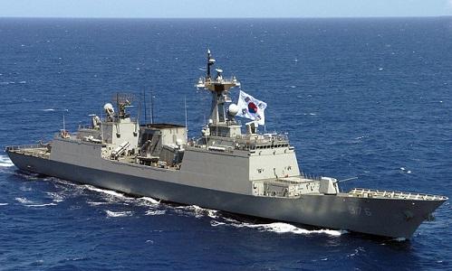 Tàu khu trục Munmu the Great của Hải quân Hàn Quốc. Ảnh: Wikipedia.