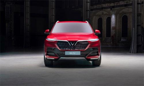 Mẫu SUV của hãng xe Việt, VinFast, sẽ ra mắt tại Paris Motor Show.