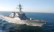 Mỹ điều tàu khu trục áp sát quần đảo Trường Sa