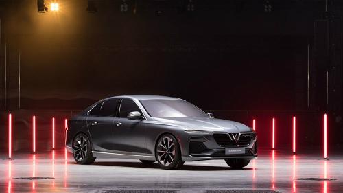 Bản concept sedan LUX A2.0 của VinFast.