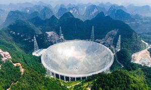 Thành tựu của kính viễn vọng vô tuyến lớn nhất thế giới