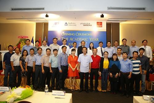 Khóa Thạc sĩ Quản trị kinh doanh - Đại học Andrews (MBA Andrews) lần này đã đánh dấu thêm một thành công mới về hợp tác quốc tế trong gần 20 năm hoạt động của Viện Đào tạo Quốc tế (IEI) - Đại học quốc gia TP HCM.