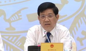 Thứ trưởng bộ Công An: Không thể chấp nhận việc bảo kê chợ Long Biên