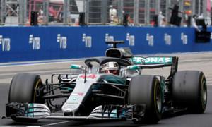 Hamilton thắng chặng đua ở Nga