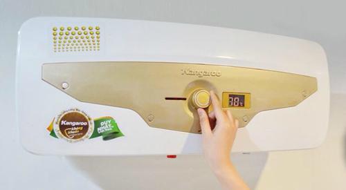 Công nghệ kháng khuẩn bình nước nóng được cấp bằng độc quyền