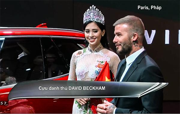 David Beckham thể hiện cảm nghĩ về bộ đôi xe VinFast.