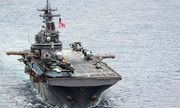 Hải quân Mỹ diễn tập bắn đạn thật tại Biển Đông