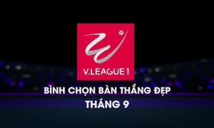 Top 5 bàn thắng đẹp V-League tháng 9