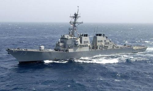 Khu trục hạm USS Decatur (DDG-73). Ảnh: Hải quân Mỹ.