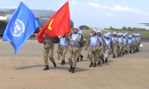 Bệnh viện dã chiến Việt Nam đến Nam Sudan