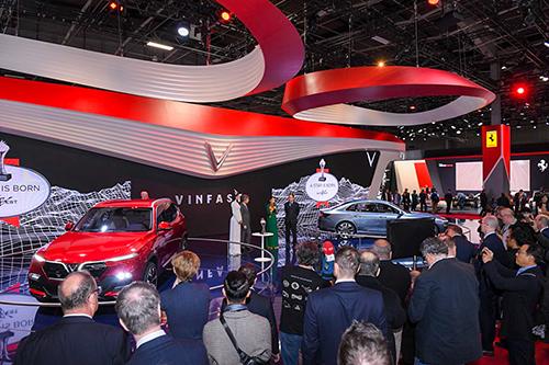 VinFast nhận giải Ngôi sao mới tại Paris Motor Show