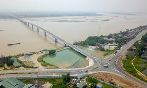 Diện mạo cầu 1.400 tỷ nối Hà Nội với Phú Thọ