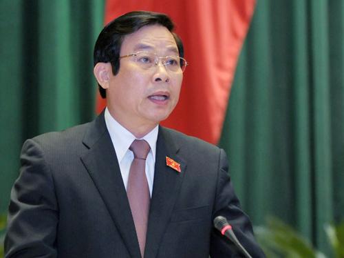 Nguyên Bộ trưởng Thông tin Truyền thông Nguyễn Bắc Son bị cách chức - ảnh 1