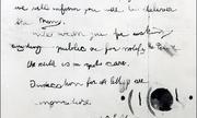 Chuyên gia phân tích chữ viết của Mỹ vạch tội kẻ tống tiền