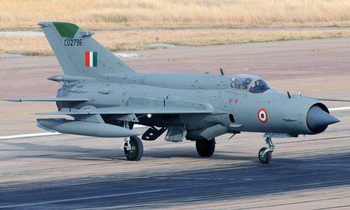 Tiêm kích MiG-21 trong biên chế không quân Ấn Độ. Ảnh: IAF.