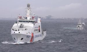 Cảnh sát biển Việt Nam và Ấn Độ diễn tập chung