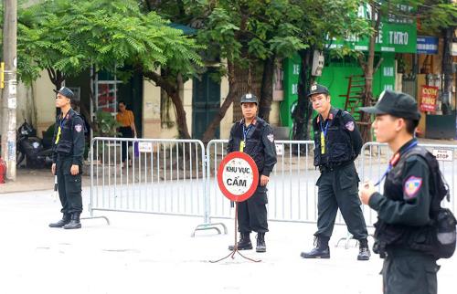 Công an Hà Nội sẽ cấm nhiều tuyến phố để phục vụ Lễ quốc tang cố Tổng Bí thư Đỗ Mười trong hai ngày 6-7/10. Ảnh. Bá Đô