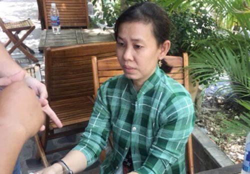 Nữ osin trộm nhiều nhà giàu ở Sài Gòn. Ảnh: C.A