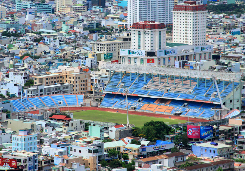 Đà Nẵng đang muốn bỏ tiền chuộc lại sân vận động Chi Lăng. Ảnh: Nguyễn Đông.
