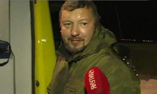 Alexander Novoseltsev sau khi được giải cứu. Ảnh: yk24.