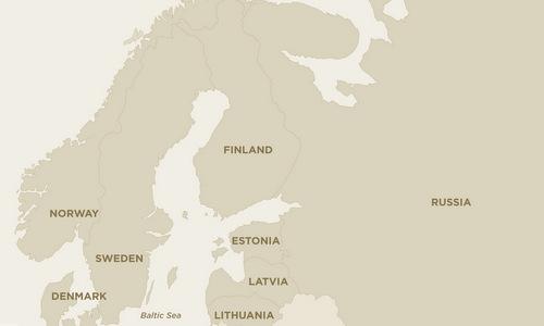 Trident Juncture 18 diễn ra tại ba nước sát với biên giới Nga. Đồ họa: AP.