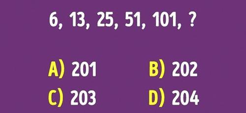 Thể dục trí não cuối tuần với những câu đố logic - 2