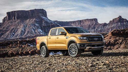 Bán tải Ranger phiên bản dành cho thị trường Mỹ của hãng xe Ford.