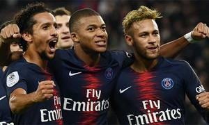 PSG 5-0 Lyon