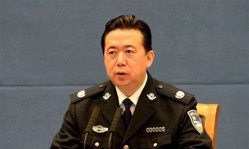 Mạnh Hoành Vĩ là Thứ trưởng Công an Trung Quốc trước khi được bầu làm Chủ tịch Interpol năm 2016. Ảnh: China Daily.