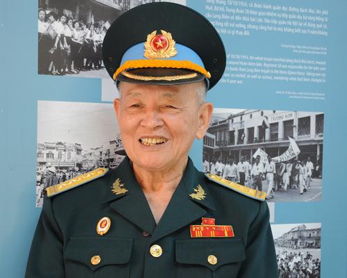 Cựu binh Trần Quốc Hanh. Ảnh: VT.