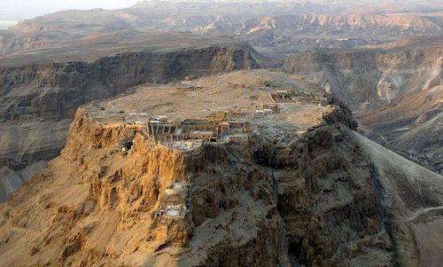 Di tích pháo đài Masada ngày nay. Ảnh: Wikipedia.
