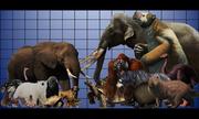 So sánh những loài động vật lớn nhất còn sống và đã tuyệt chủng