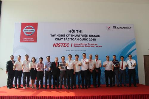 Nissan tổ chức thi tay nghề kỹ thuật viên toàn quốc.