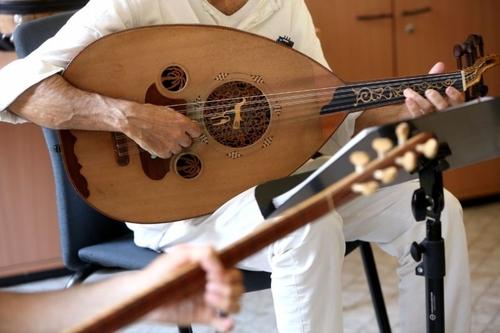 Chiếc đàn oud truyền thống của Ả-rập. Ảnh: Getty Images.